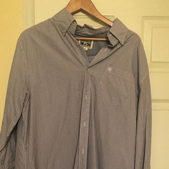 Men's Converse casual LS button up shirt.